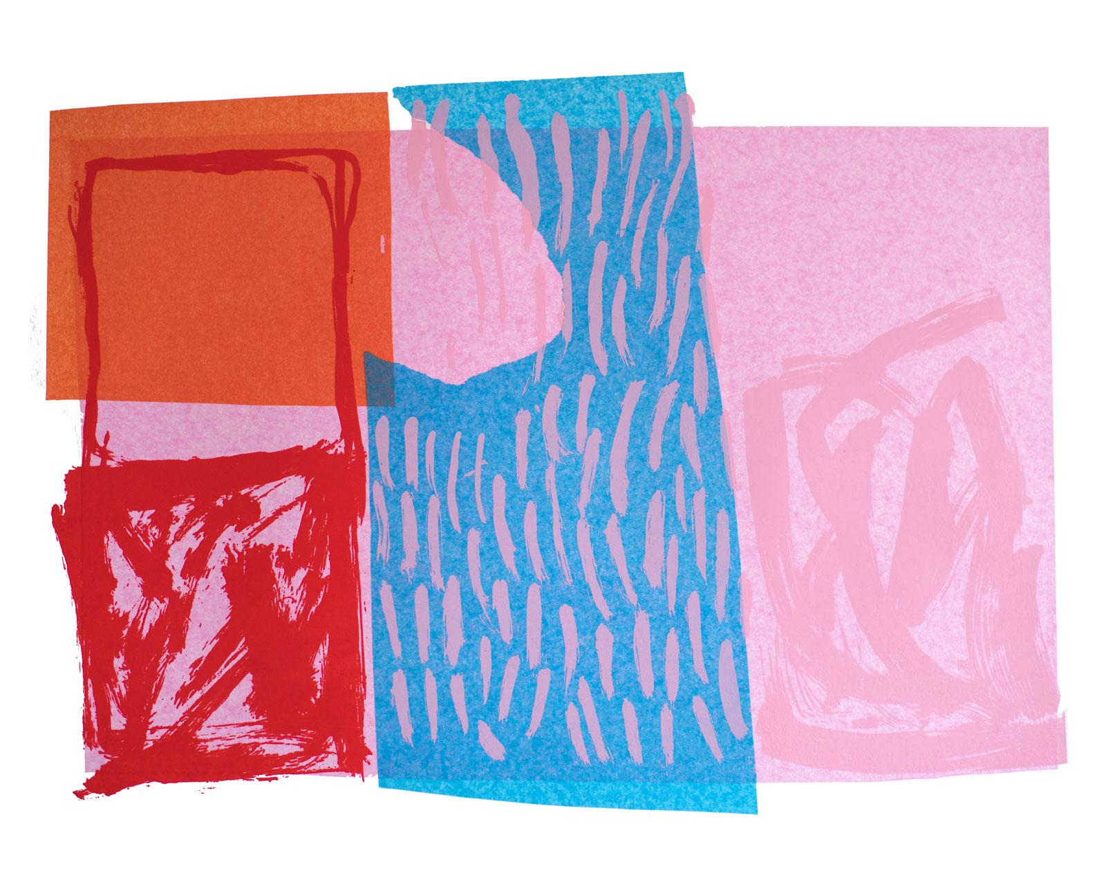 Artist, Printmaking, Digital Art, Screen printing 'Backlash 1988'