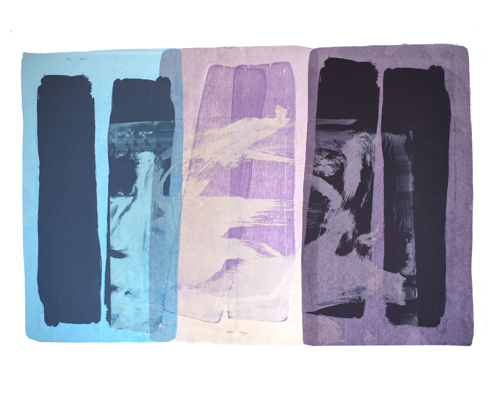 Mixture 1979, Screen Print and Collage