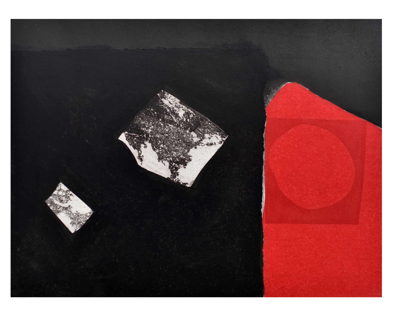 Zinc Etchings, Screen Prints on Paper ' Living with B!*L'